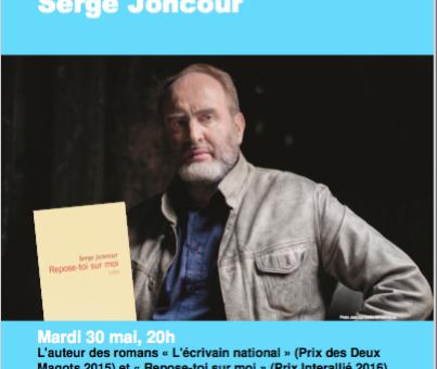 Rencontre avec Serge Joncour