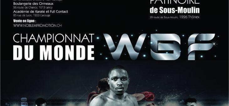 J'animerai le championnat du monde de boxe le 9 juin